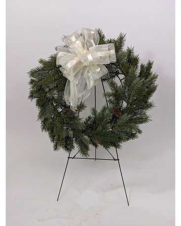 Forever Live Pine Wreath Wreath