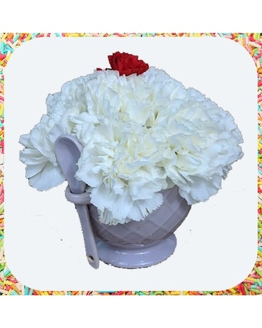 Sundae Bouquet Flower Arrangement