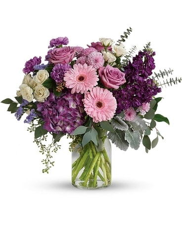 Magnificent Mauves Bouquet Flower Arrangement