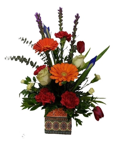 Bohemian Boquet Flower Arrangement
