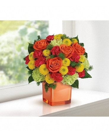 Citrus Smiles Flower Arrangement