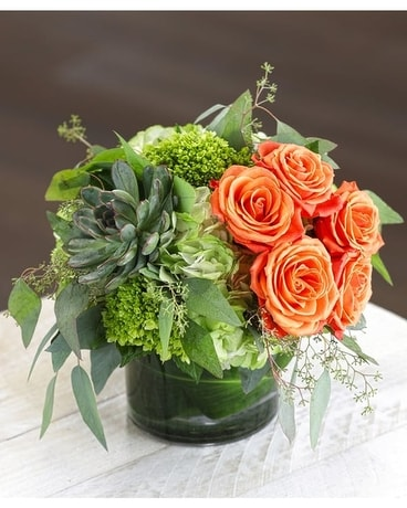 Toledo Sunset Flower Arrangement
