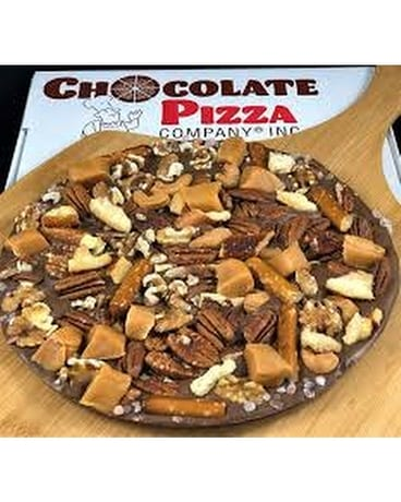 Drumstick Choco Pizza Flower Arrangement