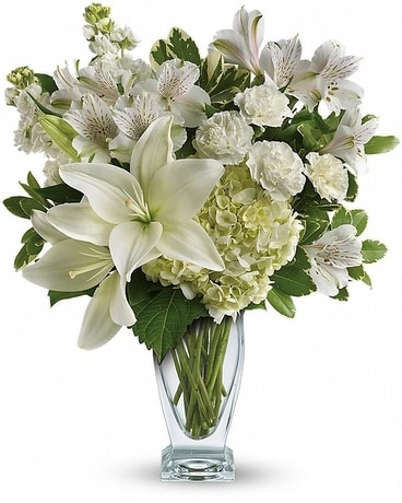 Teleflora's Purest Love Bouquet Flower Arrangement