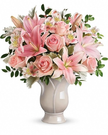Teleflora's Soft And Tender Bouquet Flower Arrangement