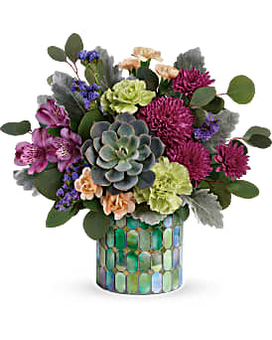 Marvelous Mosaic Bouquet Flower Arrangement