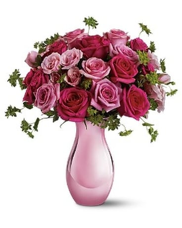 Teleflora's Spring Rose Bouquet Flower Arrangement