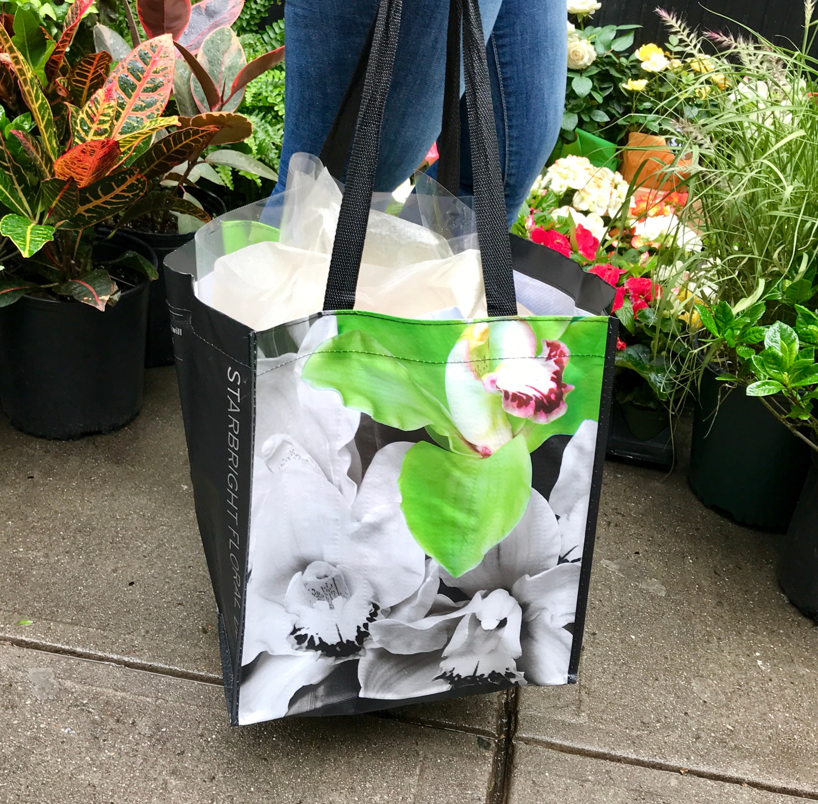 Reusable Starbright Tote