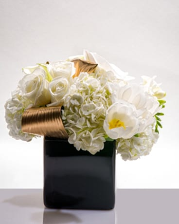 White Gold Nyc Flower Delivery Delivered Same Day Innew York Ny