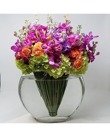 Pachelbel's Canon in Bloom Flower Arrangement