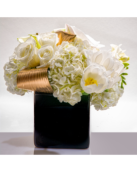 Exclusive traditional nyc flower arrangements by starbright nyc quick view white gold mightylinksfo