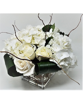 White flower bouquet delivery nyc starbright floral design white ties mightylinksfo Choice Image