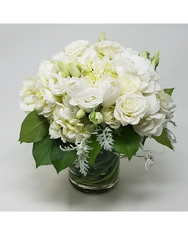 Wispy Whites Flower Arrangement