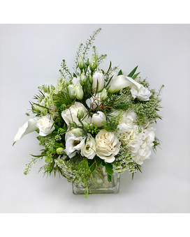 Pour the Champagne Flower Arrangement