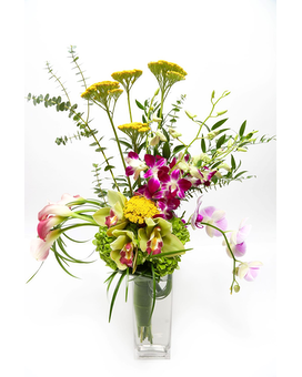 Open Arms Flower Arrangement