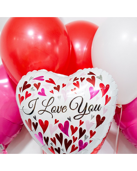 I Love You Balloon Bouquet Custom product