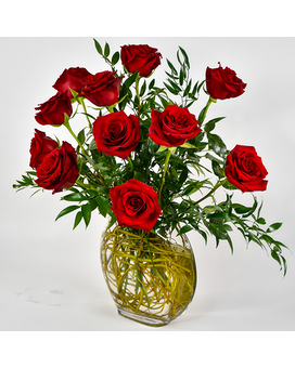 Chelsea Roses Flower Arrangement