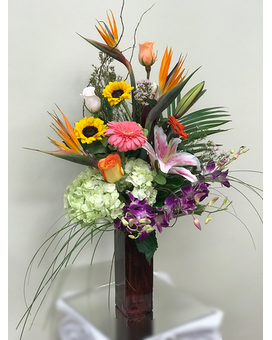 Caribbean Princess Flower Arrangement