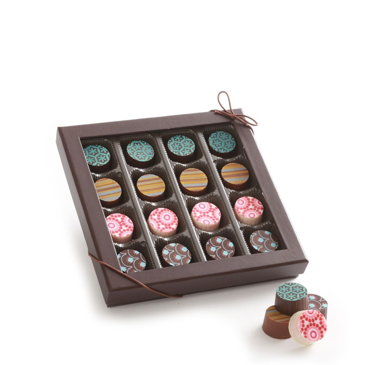 16 Piece Artisan Truffle Box - 7oz