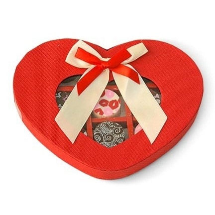 Heart Shaped Artisan Truffle Gift Box