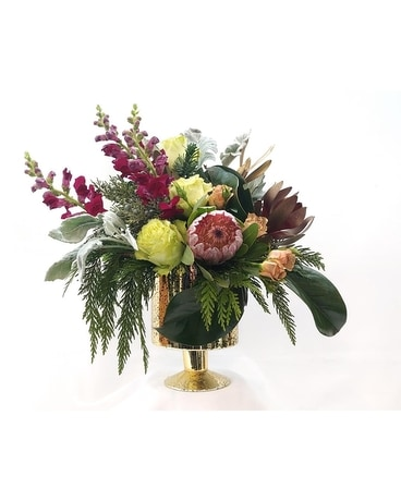 Opulence, Designed by Rosies Flower Arrangement