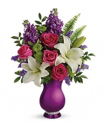 Teleflora's Sparkle And Shine Bouquet Flower Arrangement