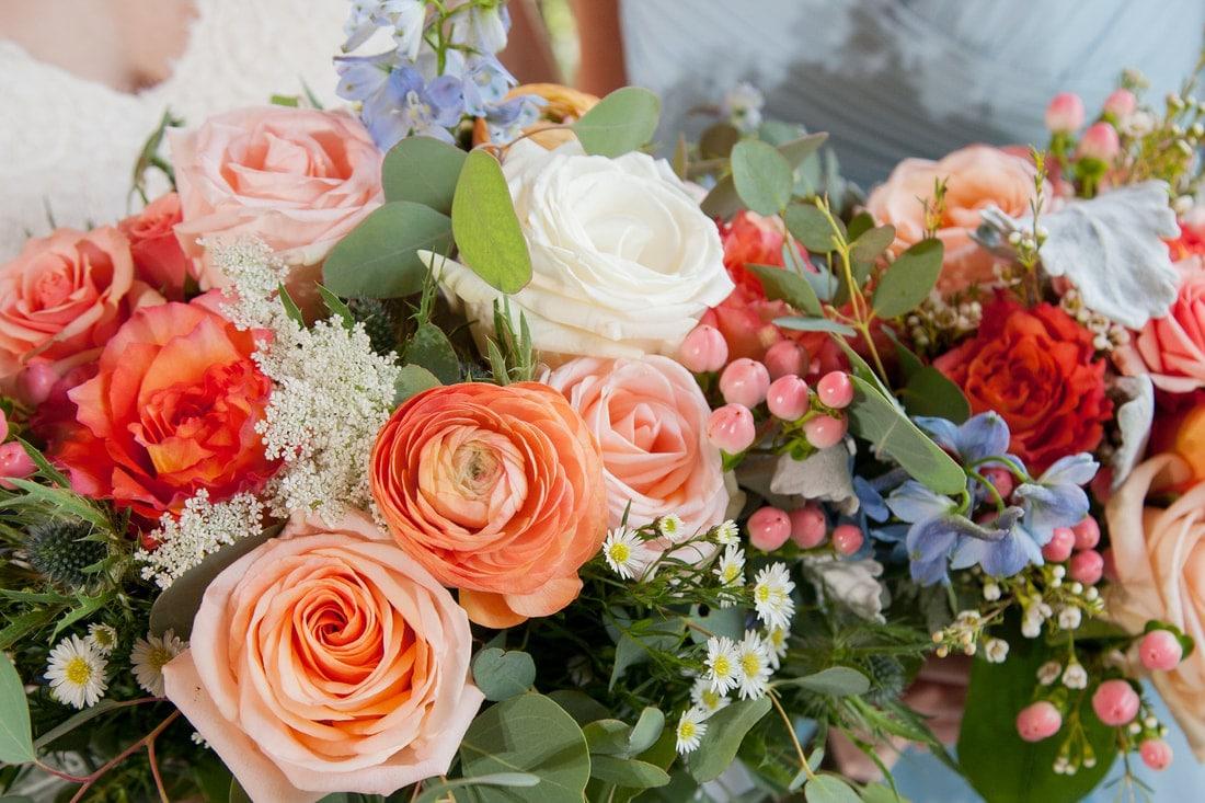 Wedding Flowers Indianapolis Modern Fresh Wedding Bouquets