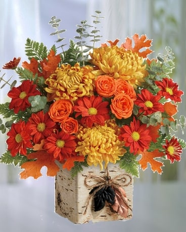 Wild Autumn Flower Arrangement