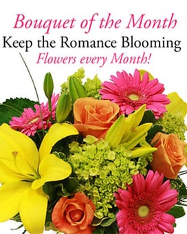 Bouquet of the Month- $75