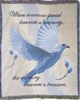 Dove Inspirational Throw