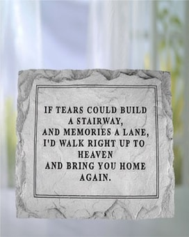 If Tears Could Build Stone