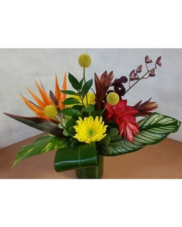 Tropical Arrangements Flower Arrangement