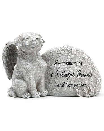 Memorial Plaque with Dog Gifts