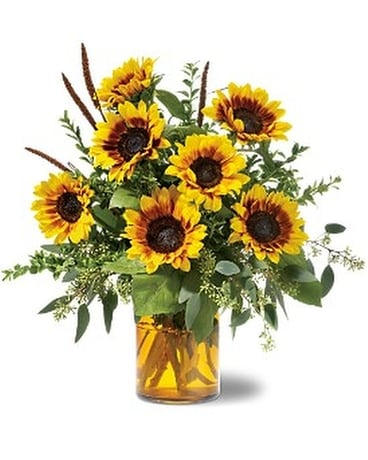 Sunrise Sunflowers Flower Arrangement