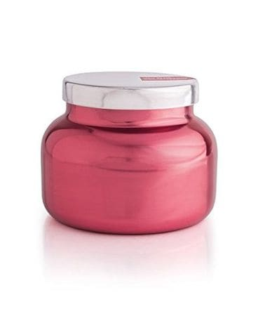 Capri Blue Pink Peppermint Metallic Jar Candle Jar Candle