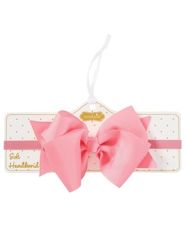 Mudpie Pink Soft Headband Gifts