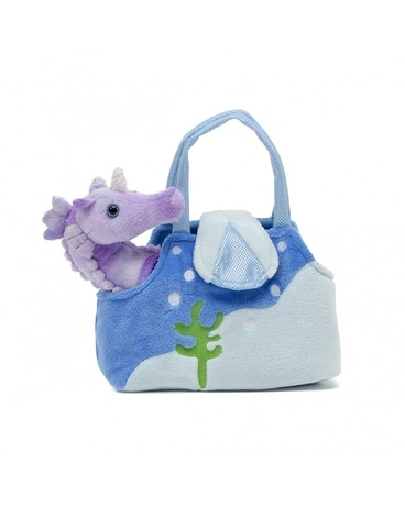 Karimee 8 inch Seahorse with Purse Gifts