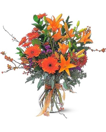 Autumn Sunshine Flower Arrangement