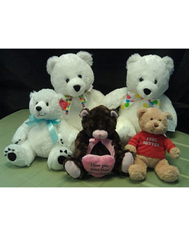 Add a Plush Bear or Tasty Chocolates to Your Order