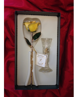 Gold Rose in Yellow