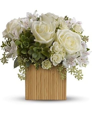 Teleflora's Bamboo Beauty Flower Arrangement