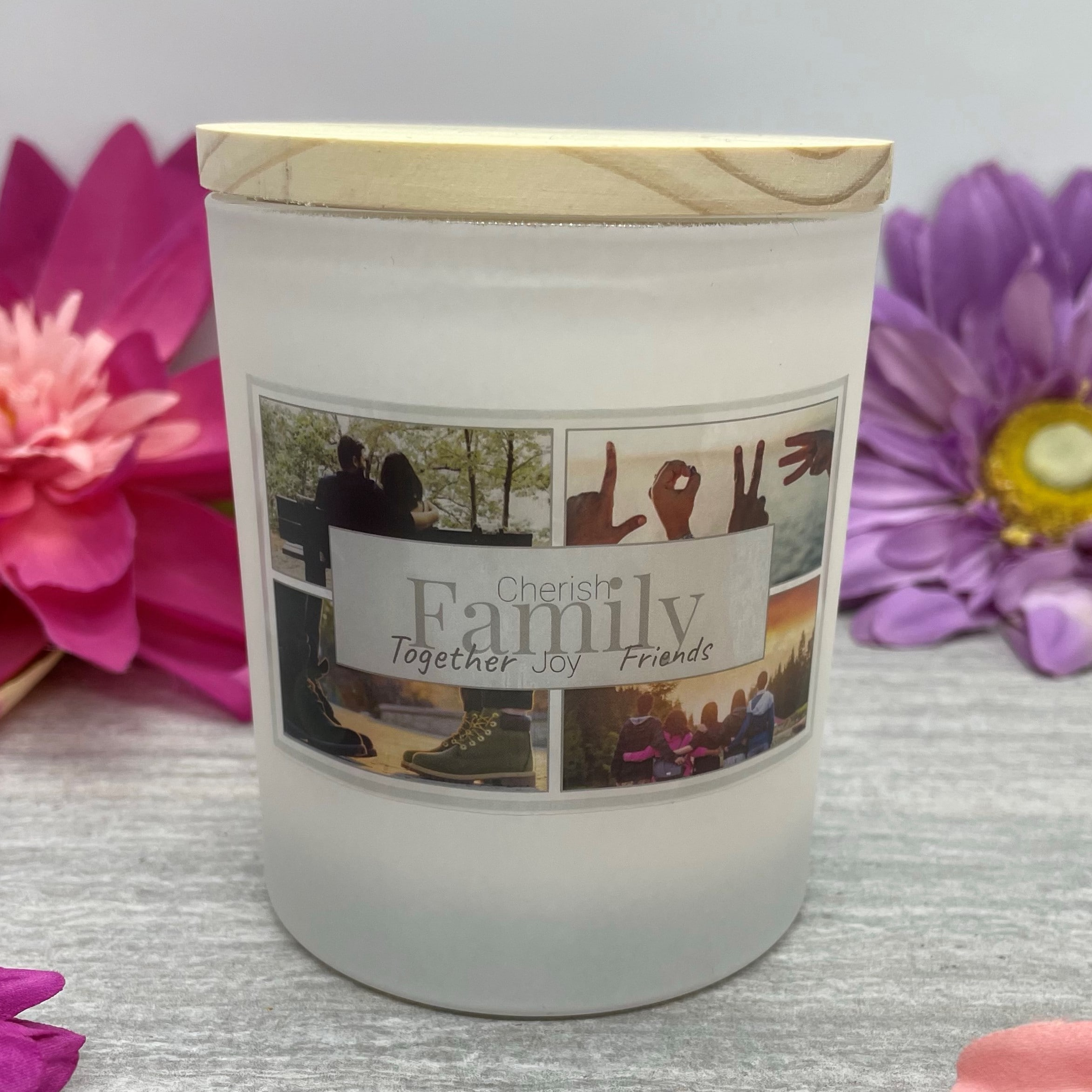 Family Natural Soy Wax Candle