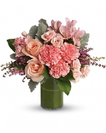 Polished Pinks Flower Arrangement