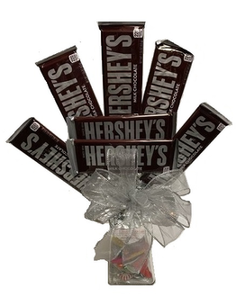 Sweetheart Candy Bouquet  (Hersheys)