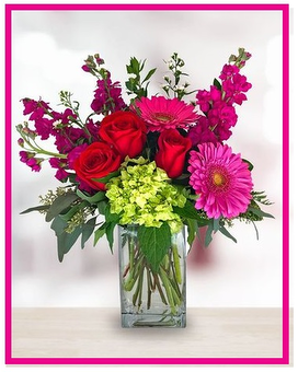 Lovely Jewel Tone Bouquet Flower Arrangement