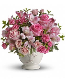 Teleflora's Pink Potpourri Bouquet with Roses Flower Arrangement