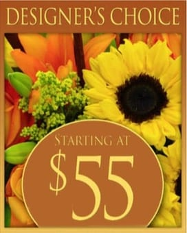 Custom Design Fall Bouquet $55 Flower Arrangement
