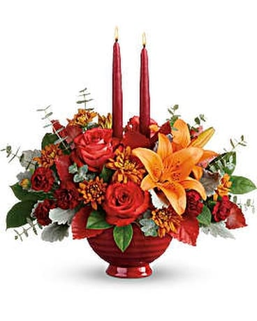 Autumn in Bloom Flower Arrangement