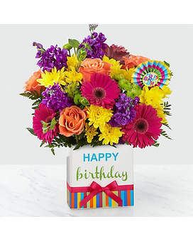 Birthday Brights Bouquet Custom product