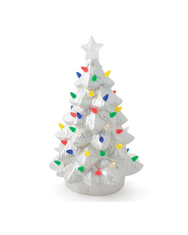 Lighted White Christmas Tree Custom product